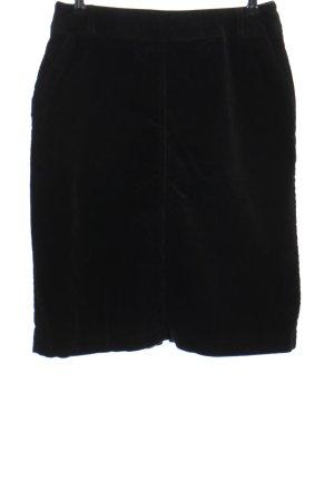 Aust Jupe mi-longue noir style décontracté
