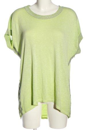 Aust Blusa taglie forti verde stile casual