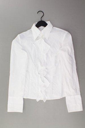 Aust Bluzka z falbankami w kolorze białej wełny Bawełna