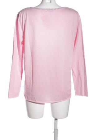 Aust Maglione girocollo rosa stile casual