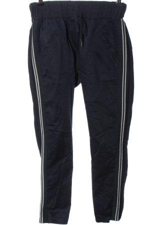 Aust Spodnie materiałowe niebieski W stylu casual