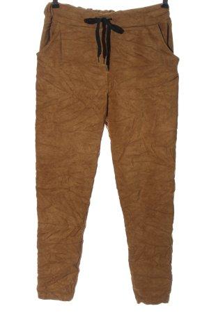Aust Spodnie materiałowe brązowy W stylu casual