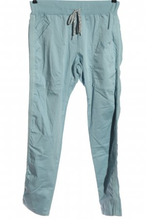 Aust Pantalon en jersey bleu style décontracté
