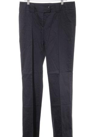 Aust Pantalon en jersey bleu foncé style d'affaires