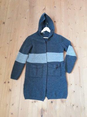 Aust Manteau en tricot multicolore