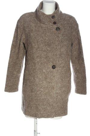 Aust Manteau mi-saison brun style décontracté