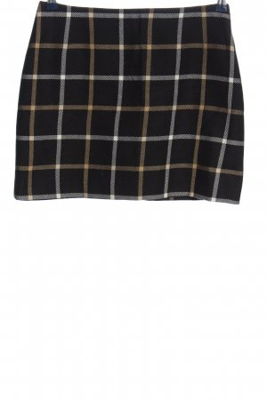 Aust Wool Skirt check pattern casual look