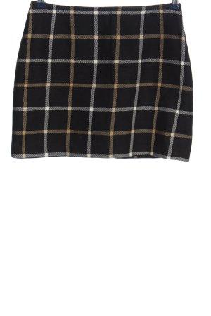Aust Falda de lana estampado a cuadros look casual