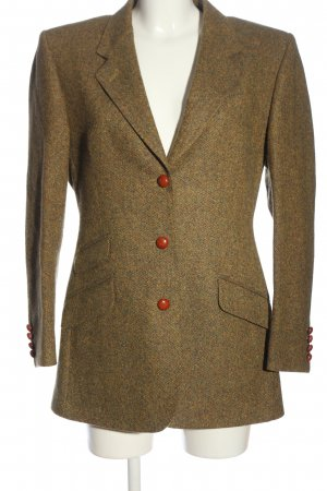 Austin Reed Long Blazer brown flecked casual look