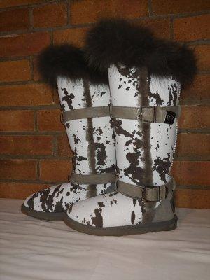 Australia Luxe Collective Buty zimowe biały-czarny