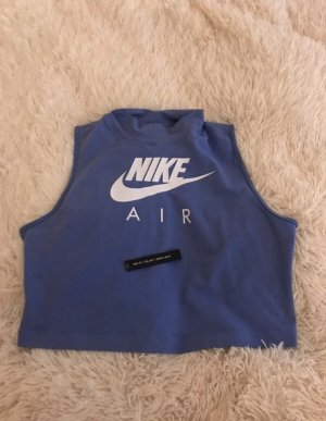 Nike Turtleneck Shirt grey violet-steel blue