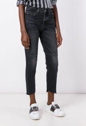 Golden Goose Jeans a 7/8 nero-antracite