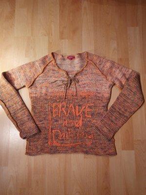 Authentic Pullover a maglia grossa multicolore