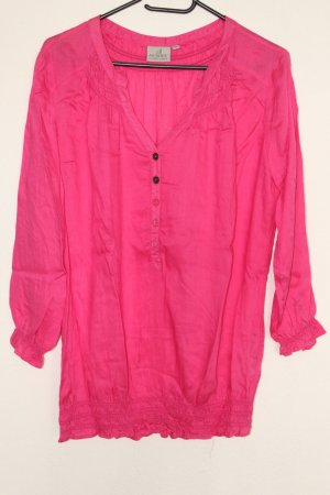Authentic Shirt Tunic pink-neon pink viscose