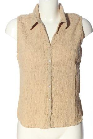 Authentic Bluzka bez rękawów kremowy Elegancki