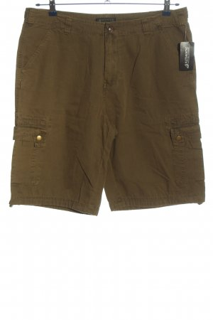 Authentic Bermudas brown casual look