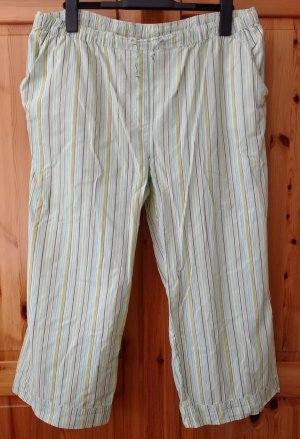 Authentic Pantalon capri multicolore coton