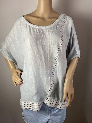 Authentic Clothing Company Bluzka o kroju koszulki jasnoniebieski