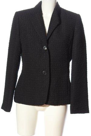 Authentic Clothing Company Klassischer Blazer czarny W stylu biznesowym
