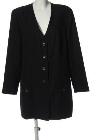 Authentic Clothing Company Długa marynarka czarny W stylu casual