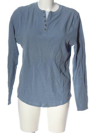 Authentic Clothing Company Koszulka z długim rękawem niebieski W stylu casual