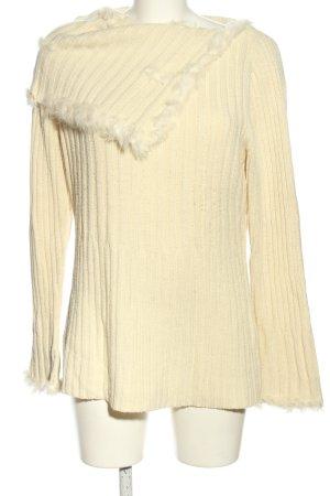 Authentic Clothing Company Maglione lavorato a maglia giallo pallido