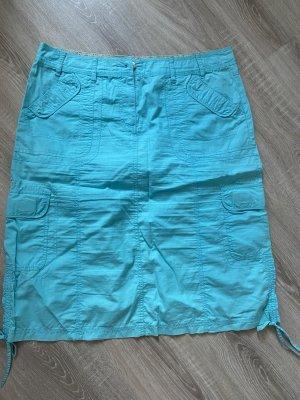 Authentic Clothing Company Pencil Skirt light blue mixture fibre