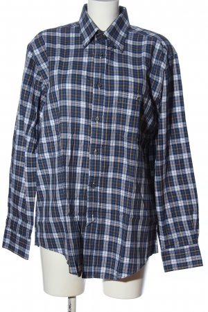 Authentic Lumberjack Shirt blue-white check pattern casual look