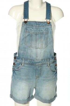 Authentic Jumpsuit blauw casual uitstraling
