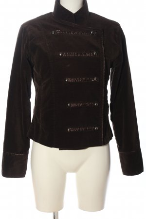 Authentic Short Jacket brown casual look