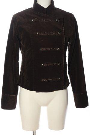Authentic Krótka kurtka brązowy W stylu casual