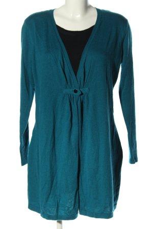 Authentic Długi sweter niebieski W stylu casual