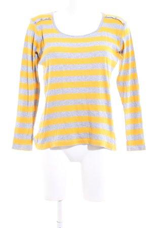 Authentic Koszulka z długim rękawem bladożółty-jasnoszary Melanżowy