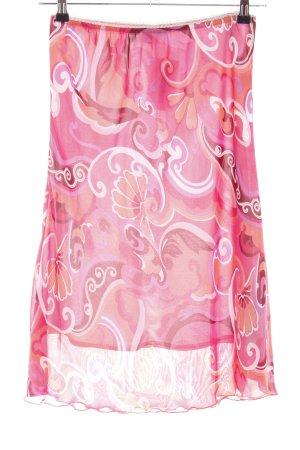 Authentic Spódnica midi Wzór w kwiaty W stylu casual