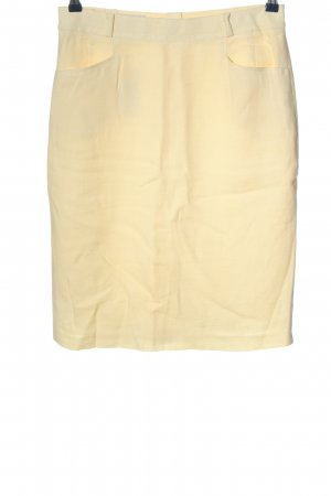 Authentic Midi Skirt cream casual look