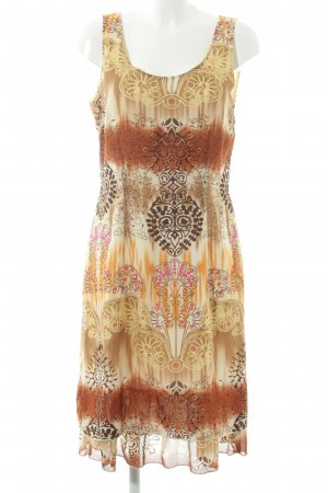 Authentic Mini Dress abstract pattern casual look
