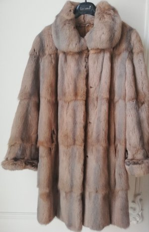 Authentic Mink Brown Fur