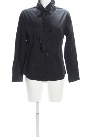 Authentic Ruffled Blouse black casual look
