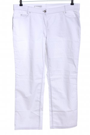 Authentic Jersey Pants white-light grey striped pattern casual look