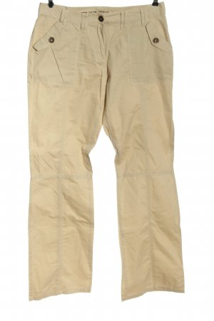 Authentic Stoffhose creme Casual-Look