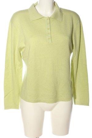 Authentic Sweter z dzianiny zielony Warkoczowy wzór W stylu casual