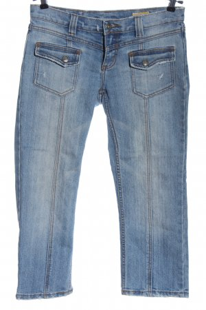 Authentic Style Jeans a 7/8 blu stile casual