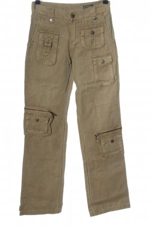 Authentic Style Cargo Pants brown casual look