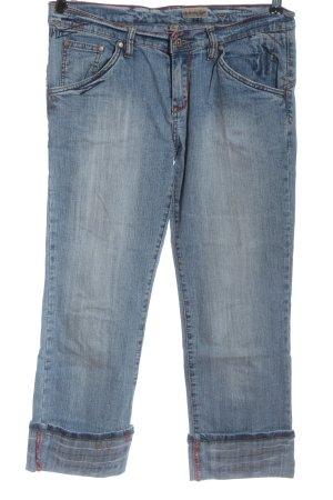 Authentic Style Jeans met rechte pijpen blauw casual uitstraling