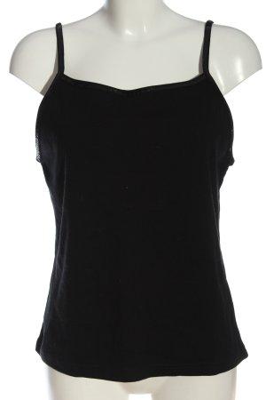 Authentic Top na ramiączkach czarny W stylu casual