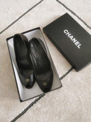 Authentif.Chanel Pumps Box, Staubbeutel