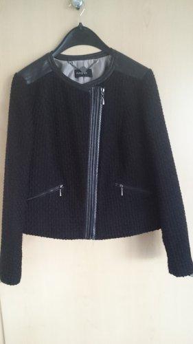 Autograph Biker Jacket black wool