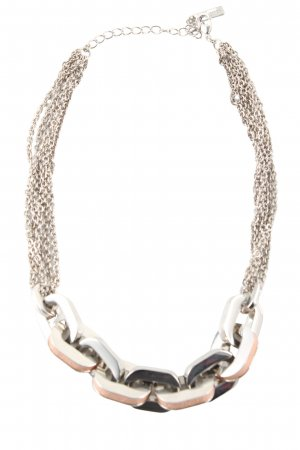 Autograph Necklace silver-colored casual look