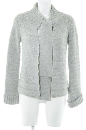 Autograph Giacca in maglia grigio chiaro stile casual