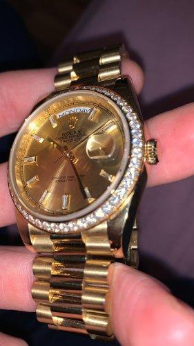 Automatisch horloge goud